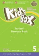 Kid's Box Updated 2nd Edition Level 5 Teacher's Resource Book with Online Audio