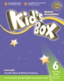 Kid's Box Updated 2nd Edition Level 6 Activity Book with Online Resources - Pracovný zošit