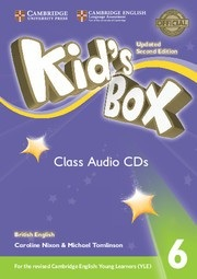 Kid's Box Updated 2nd Edition Level 6 Class Audio CDs (4)