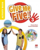 Give Me Five! Level 3 Activity Book - Pracovný zošit