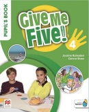 Give Me Five! Level 4 Pupil's Book +Navio App - učebnica
