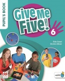 Give Me Five! Level 6 Pupil's Book +Navio App - učebnica