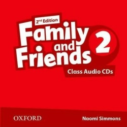 Family and Friends 2nd Edition Level 2 Class Audio CD (2ks) (Simmons, N. - Thompson, T. - Quintana, J.)