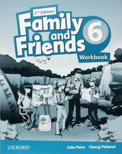 Family and Friends 2nd Edition Level 6 Workbook - pracovný zošit (Simmons, N. - Thompson, T. - Quintana, J.)