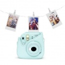 Fujifilm Instax Mini 9 ice blue LED Bundle