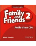 Family and Friends 2 Class Audio CDs (Simmons, N.)
